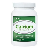 GNC Calcium with Vitamin D-3 , 120 капсул