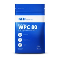 KFD Regular WPC 80 Whey Protein concentrate, 750 г