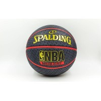 Мяч баскетбол SPALDING №7 резиновый HIGHLIGHT RED OUTDOOR