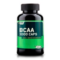 Optimum Nutrition BCAA 1000, 200 капсул