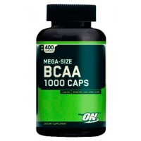 Optimum Nutrition BCAA 1000, 400 капсул