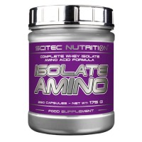 Scitec Nutrition Isolate Amino, 250 капсул