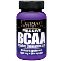 Ultimate Nutrition Massive BCAA, 60 капсул